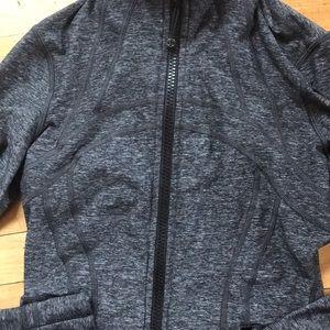 Lululemon heathered gray Define jacket
